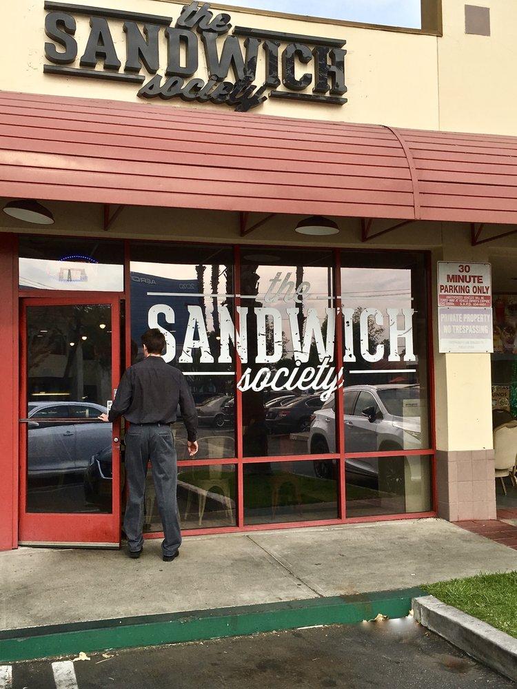 The Sandwich Society